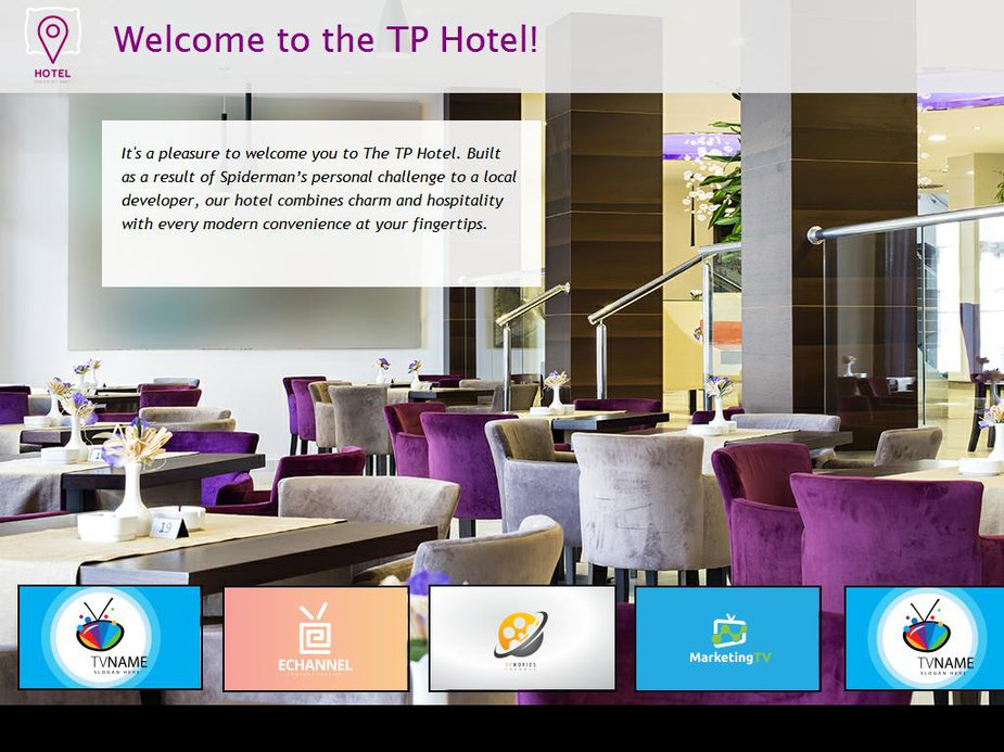 Hotel Info Page Channels Image