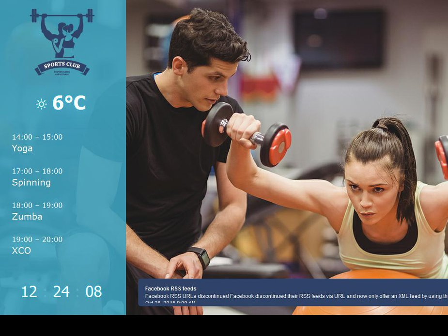 Gym template image